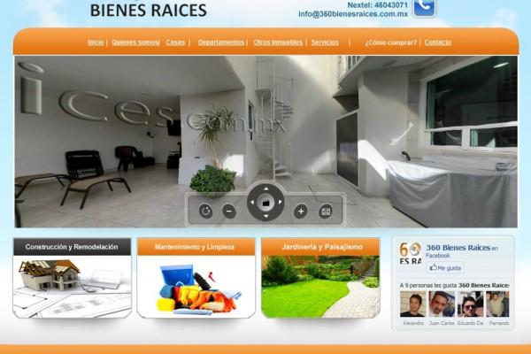 Diseño pagina web 360