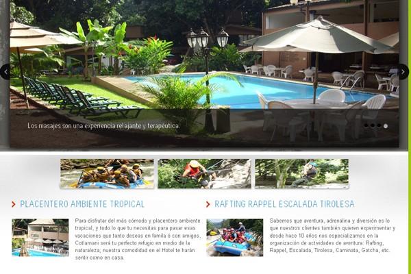 Diseño de pagina web Cotlamani