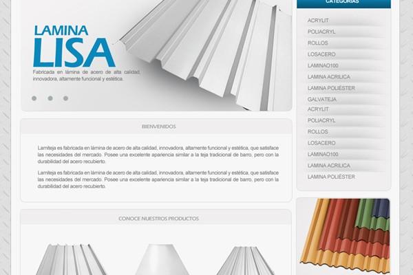 Diseño web de Aceros W