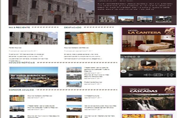 Diseño pagina web vive aculco