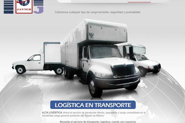 Diseño web de Alta Logistica