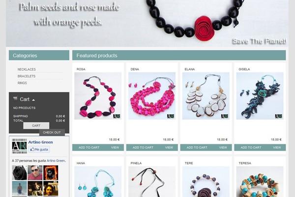 Diseño Página Web y tienda virtual de Artino