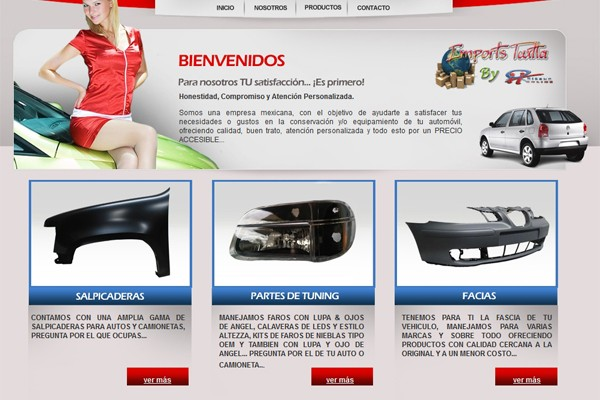 Diseño catalogo virtual autopartes