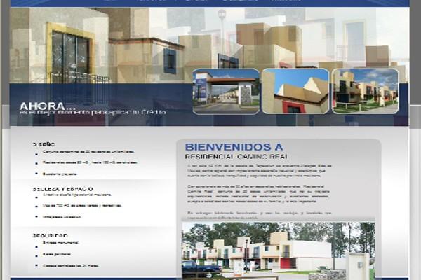 Diseño pagina web casasjilo