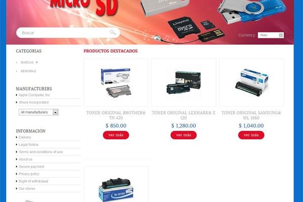 Diseño de tienda virtual de Coatl System