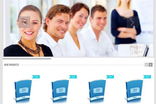 Diseño de tienda virtual de Consultoria Kurios