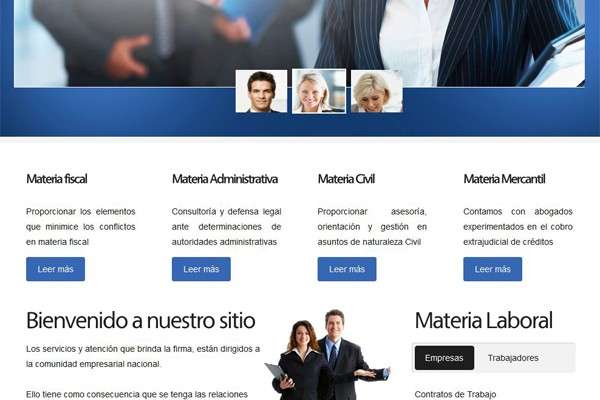Página Web para Consultoria Quinter