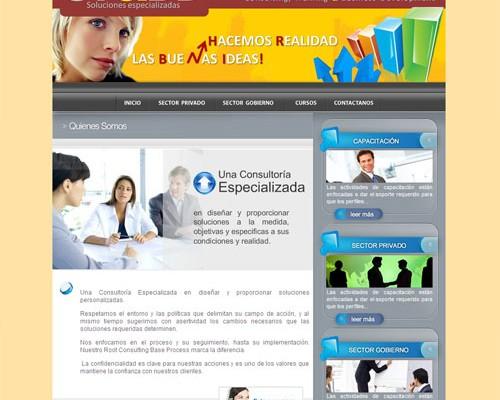Diseño de pagina web ctbd