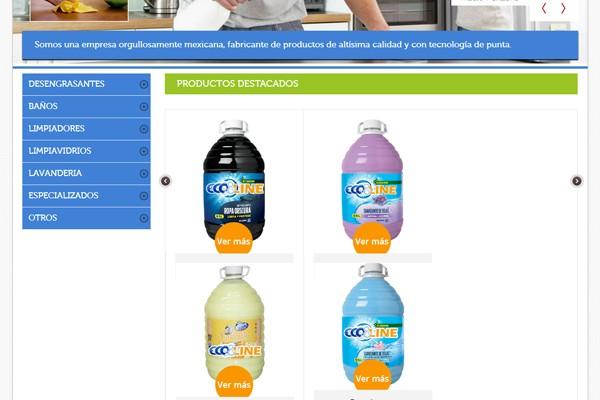 Diseño del catalogo virtual de Ecconline