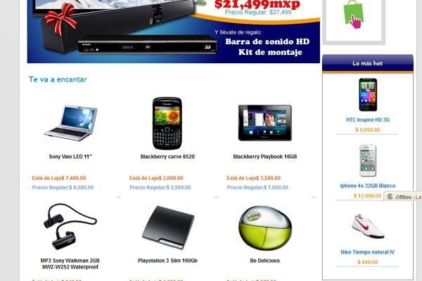 Diseño web y tienda virtual de Esta de Lujo