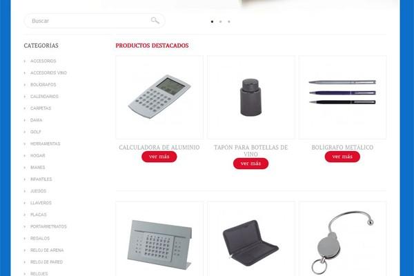 Diseño de pagina web y catalogo virtual de Exclusiveline