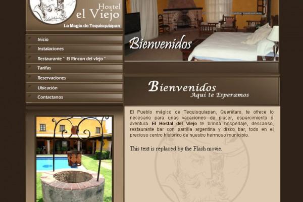 pDiseño pagina web para un hotel en Tequisquiapan Centro