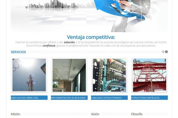 Página Web para Interlicel
