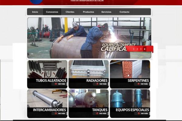 Rediseño web de Itisa