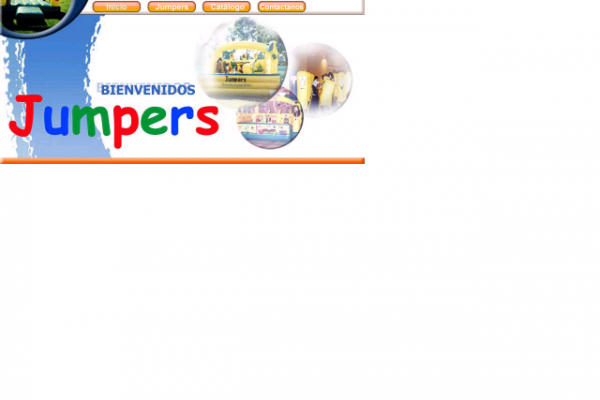 Diseño de pagina web jumpers