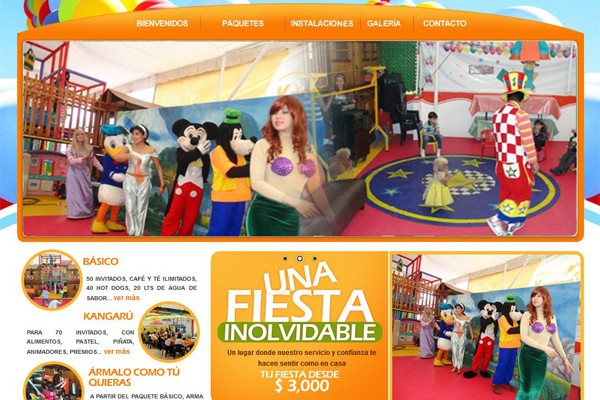 Diseño web de Kangarú