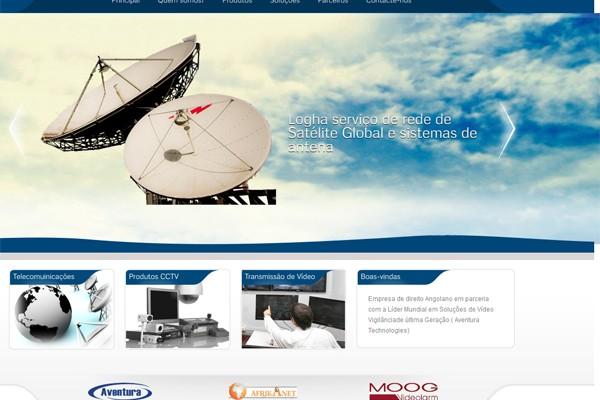 Diseño pagina web loghanet