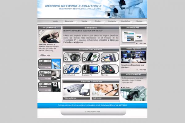 Diseño de paginas web memows