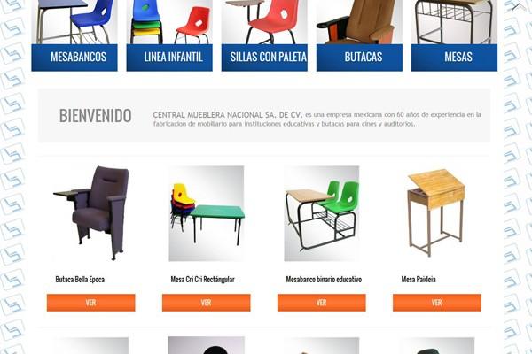 Diseño de página web Mlego