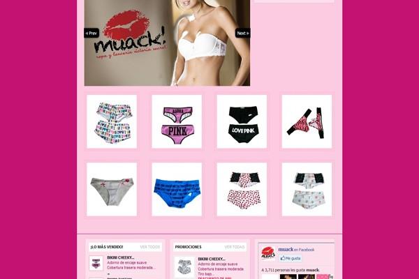 Diseño web muack