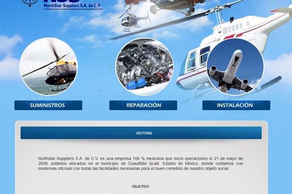 Diseño pagina web para Nss México