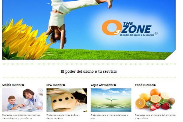 Diseño pagina ozone