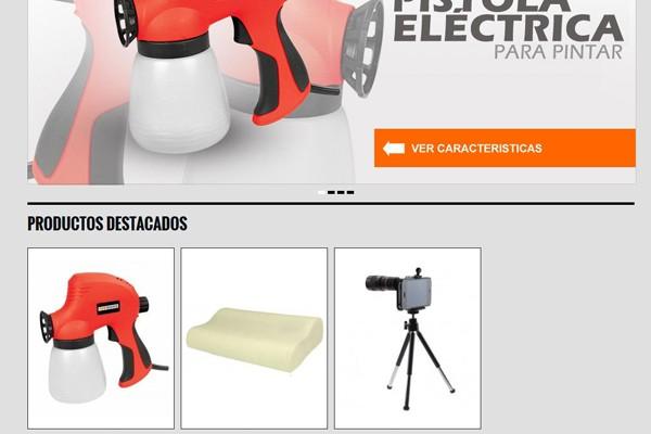 Diseño web y tienda virtual de Permond