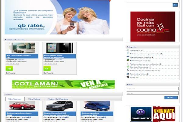 Diseño de pagina web qbrates