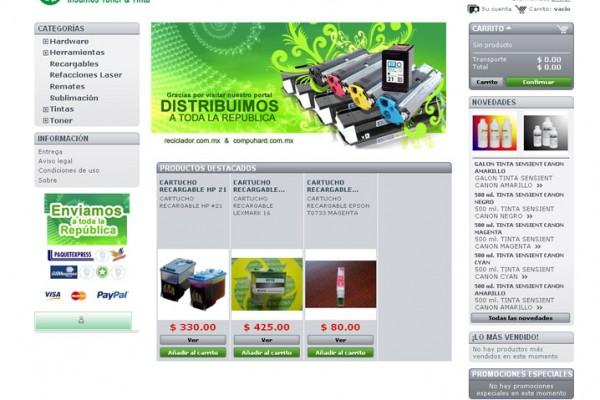 Tienda virtual reciclador