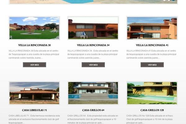 Diseño de una página para Tequisquiapan