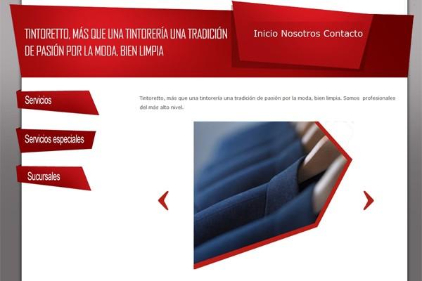 Diseño web de Tintoreto