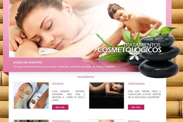 Pagina web para Tratamientos