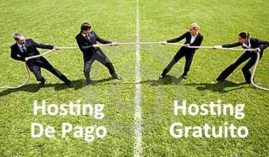 Web Hosting de Pago vs Gratuito